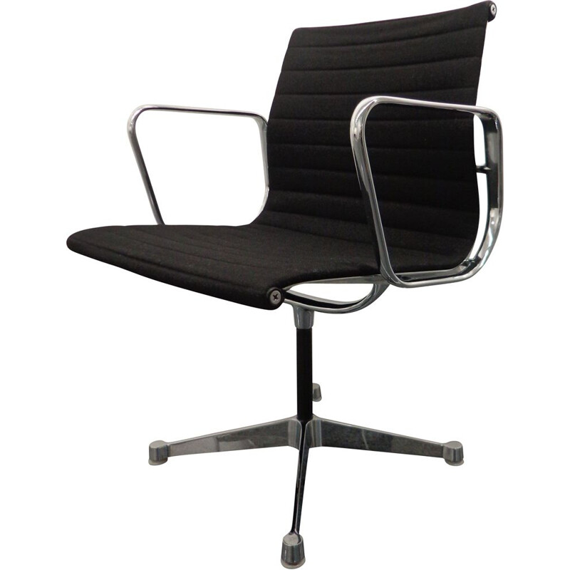 Vintage Aluminum EA108 desk chair by Charles & Ray Eames ed. Herman Miller 1960s
