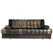DS85 De Sede sofa / daybed in leather - 1970s