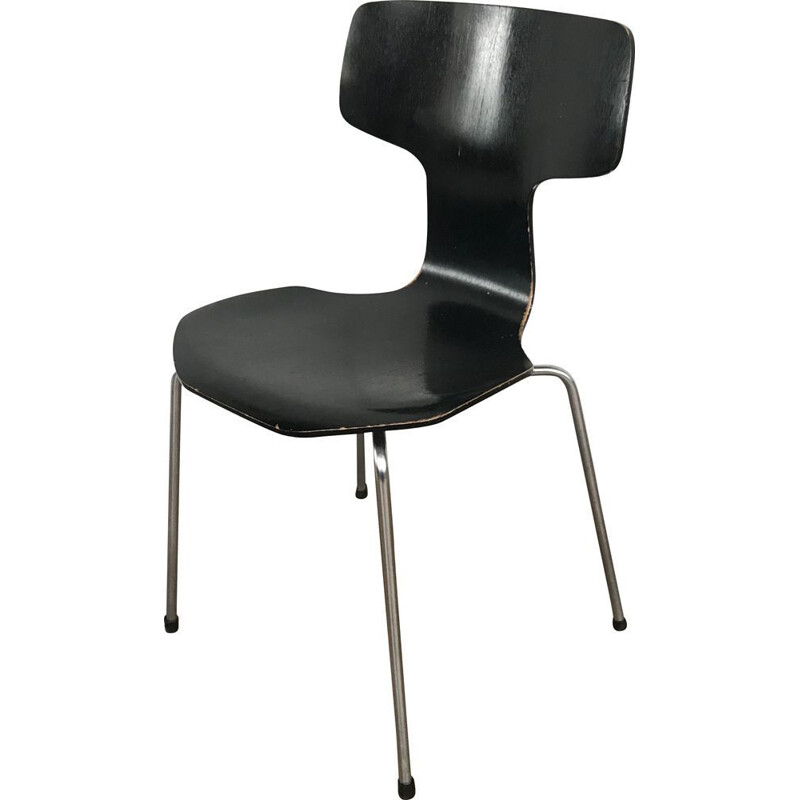 Vintage hammer chair by Arne Jacobsen for Fritz Hansen 1969s