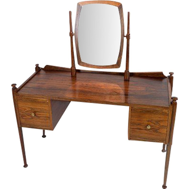 Vintage Dressing table in rosewood by Chr. Linneberg 1960s