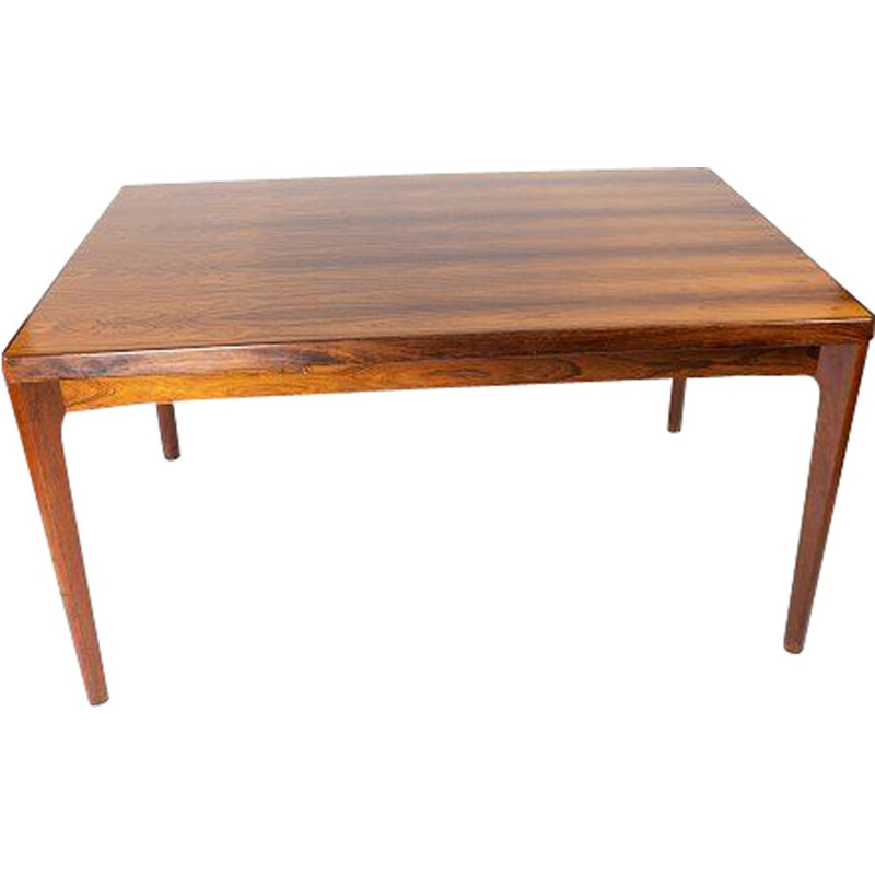 Vintage Dining table in rosewood with extensions by Henning Kjærnulf and by Vejle Furniture Factory 1960s