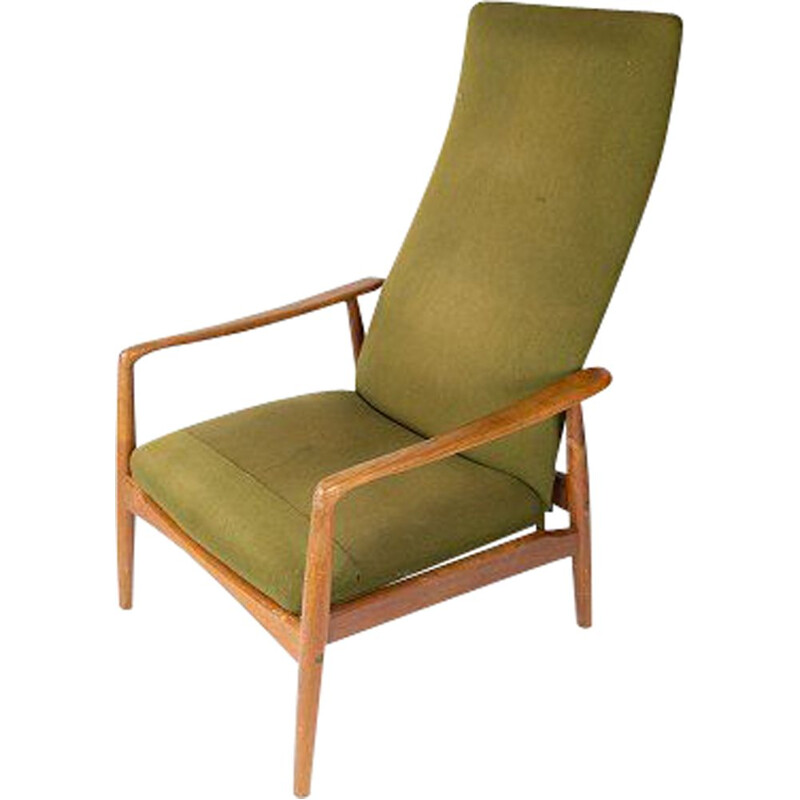 Vintage Easy chair by Alf Svensson and by Fritz Hansen 1960s
