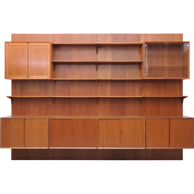 Vintage teak furniture by Poul Cadovius selv and Cado Denmark