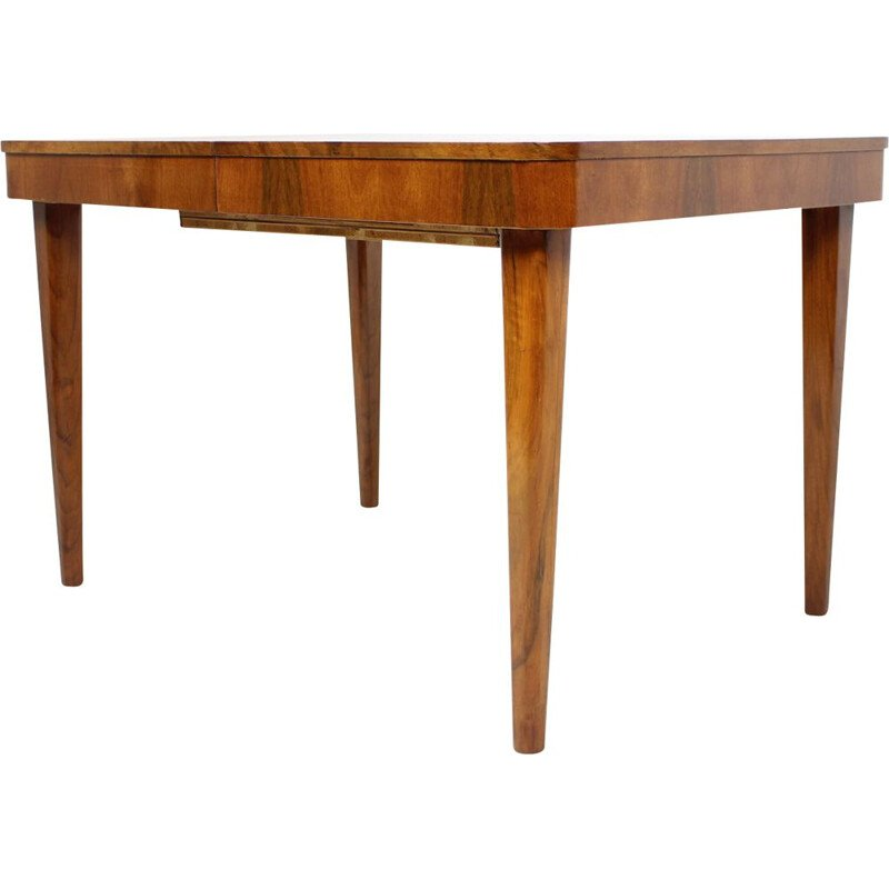 Vintage Extendable Dining Table by Jindrich Halabala, Czechoslovakia 1958s