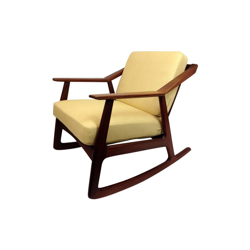 Armchair Rocking Chair Brockmann PETERSEN Design Market - Fauteuil rocking chair design