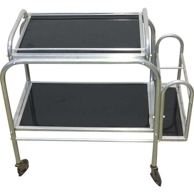 Vintage Art Deco Trolley, French 1930s