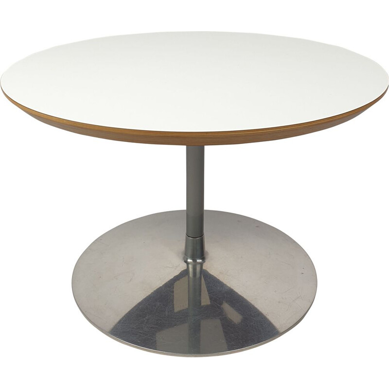 Vintage Round Coffee Table by Pierre Paulin for Artifort 1990s