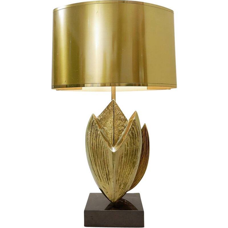 Vintage desk lamp Cythère by Chrystiane Charles for Maison Charles 1970s