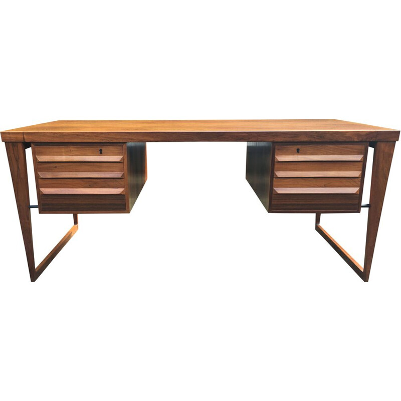 Vintage Desk Model 70 by Kai Kristiansen for Feldballes Mobelfabrik, Denmark 1965s