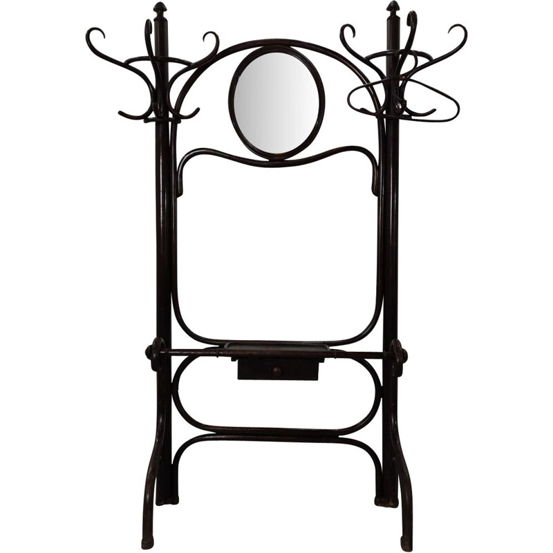 Vintage Thonet double coat rack