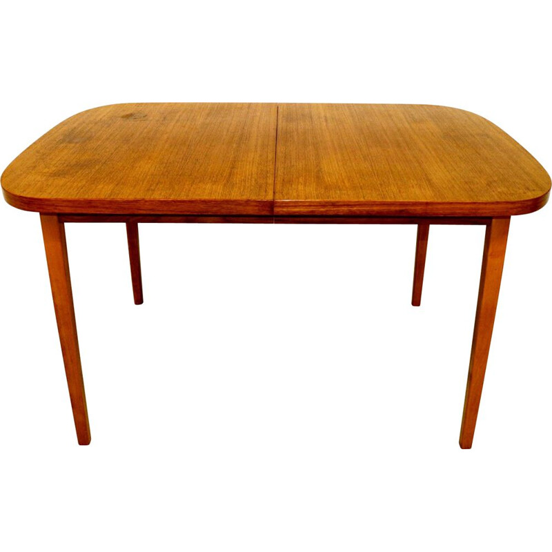 Vintage teak dining table, Sweden 1960