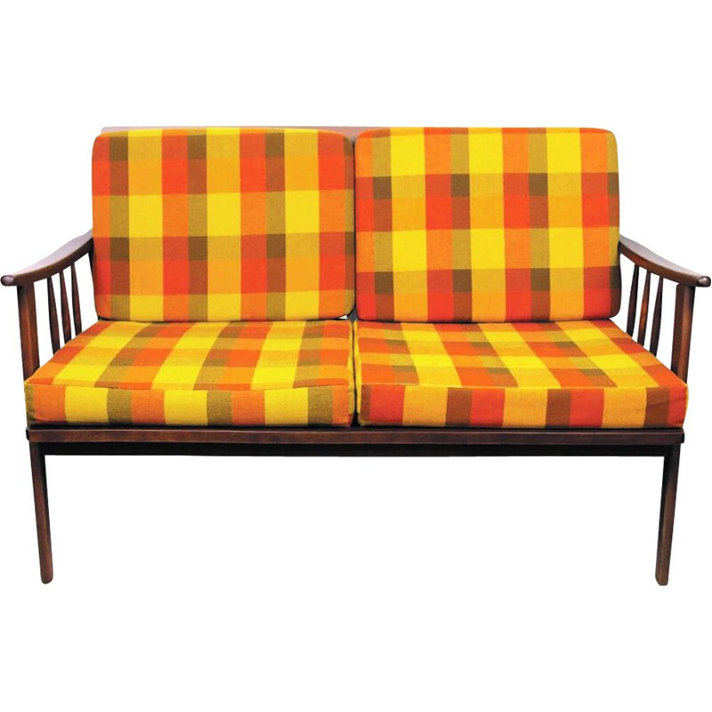 Mid-Century two seater sofa, French 1960s