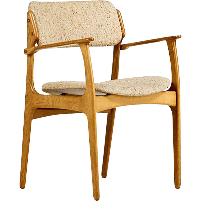 Vintage armchair model 49 by Erik Buch for Oddense maskinsnedkeri