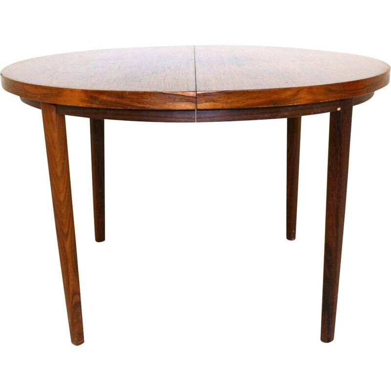Vintage rosewood dining room table, Denmark 1960s