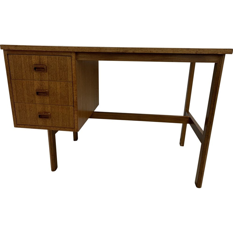 Vintage double-sided desk, Scandinavian 1960s