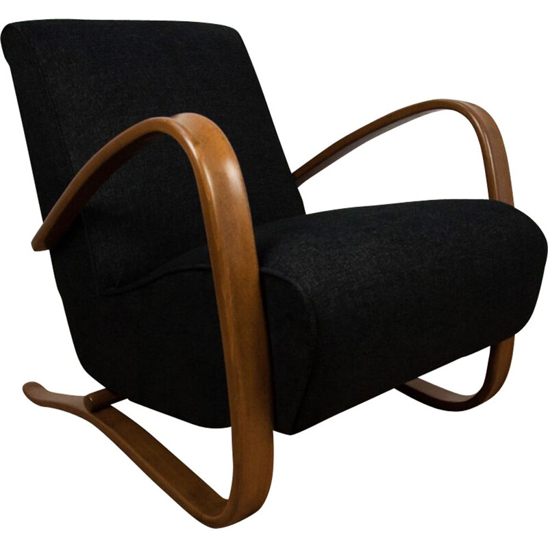 Vintage H-269 Armchair by Jindřich Halabala for UP Závody 1930s
