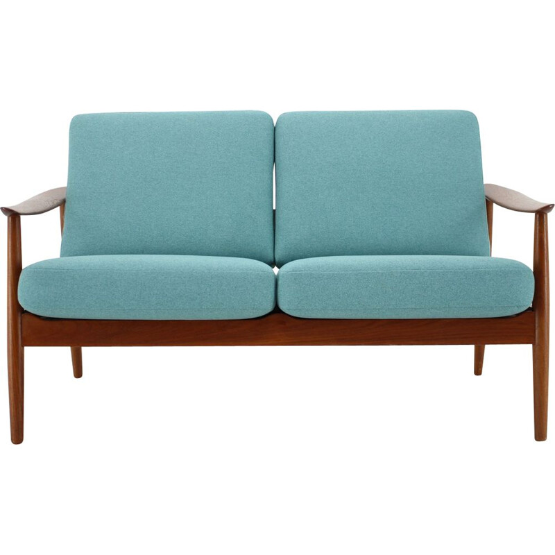 Vintage 2 seater sofa by Arne Vodder for France & Son, Denmark 1960