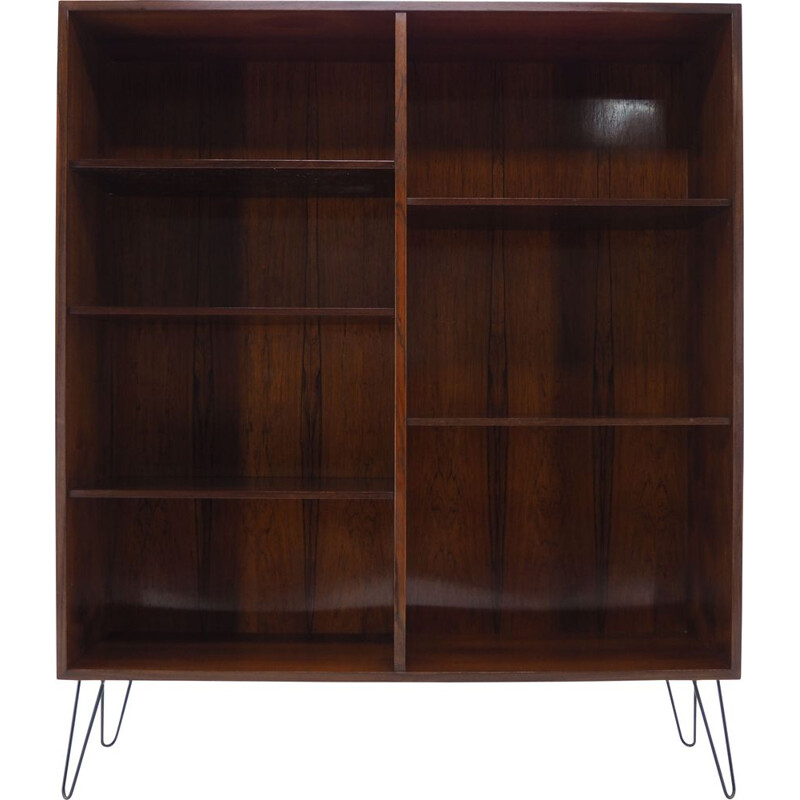 Vintage rosewood bookcase by Omann Jun, Denmark 1960