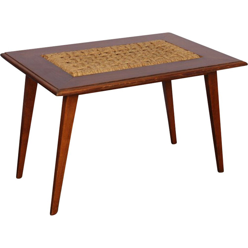 Vintage coffee table by Audoux & Minet for Vibo, 1960