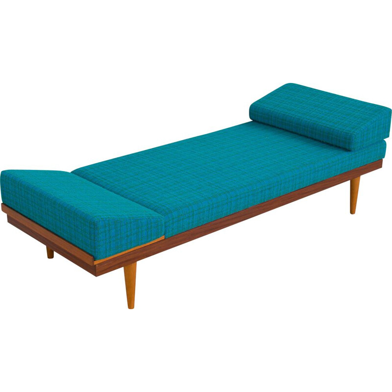 Vintage Teak Daybed Svanette with Side Table by Ingmar Relling for Swane Ekornes, 1960s