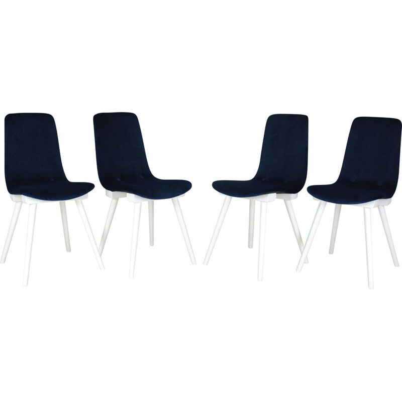 Set of 4 vintage Dining Chairs from Radomsko 1960s
