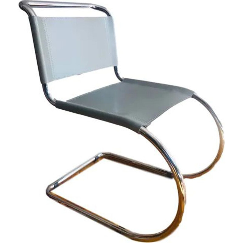 Vintage MR10 Chair by Mies Van Der Rohe for Knoll 1980s