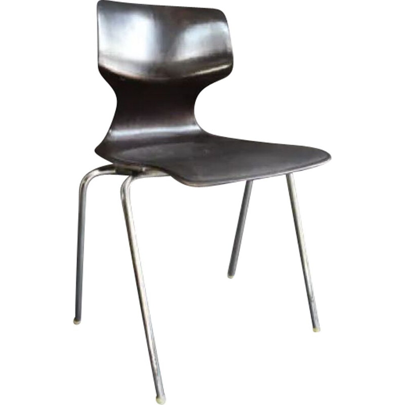 Vintage Dining chair by Elmar Flötotto, Germany 1960s