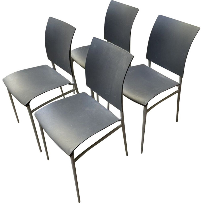 Set of 4 vintage chairs by Philippe Starck 1990