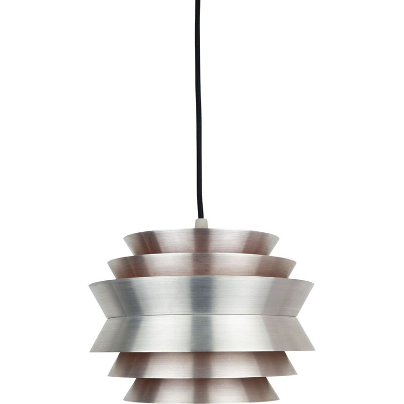 Vintage Trava pendant lamp by Carl Thore for Granhaga Metallindustri, Sweden 1960