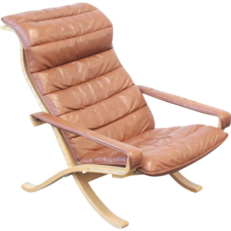 Vintage Lounge Chair by Ingmar Relling for Westnofa 1960s