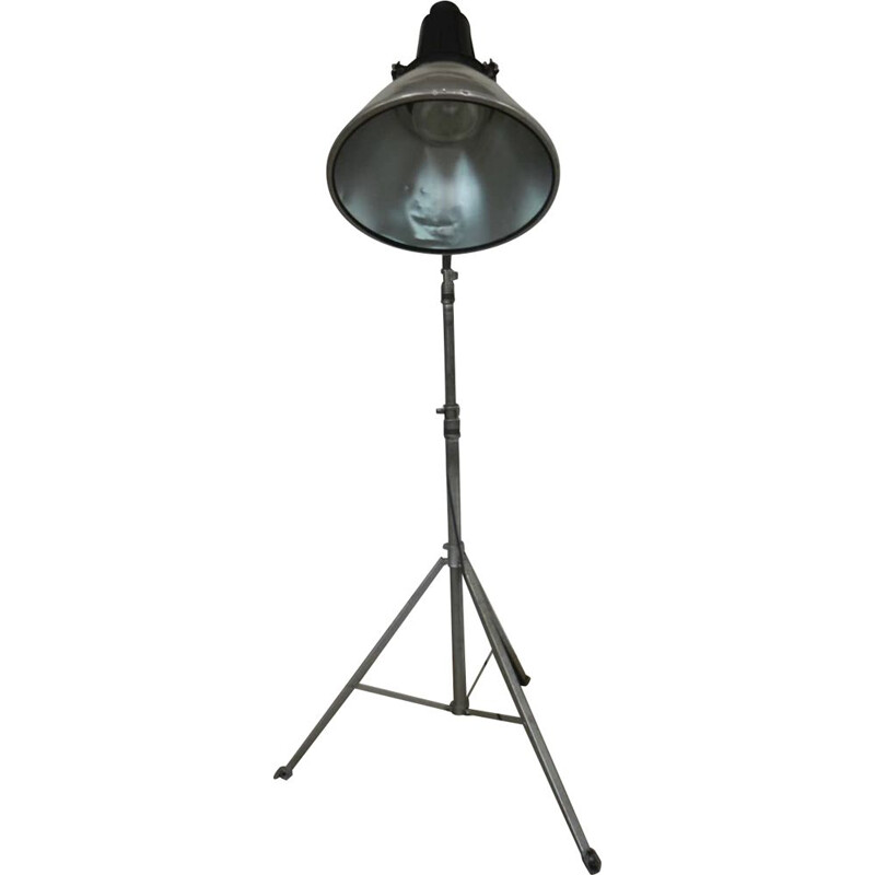 Vintage industrial floor lamp 1970