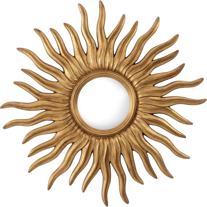 Vintage witch sunshine eye mirror