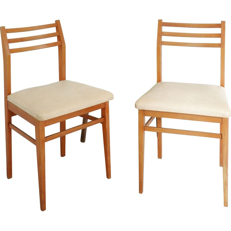 Pair of vintage chairs Elf, Scandinavian