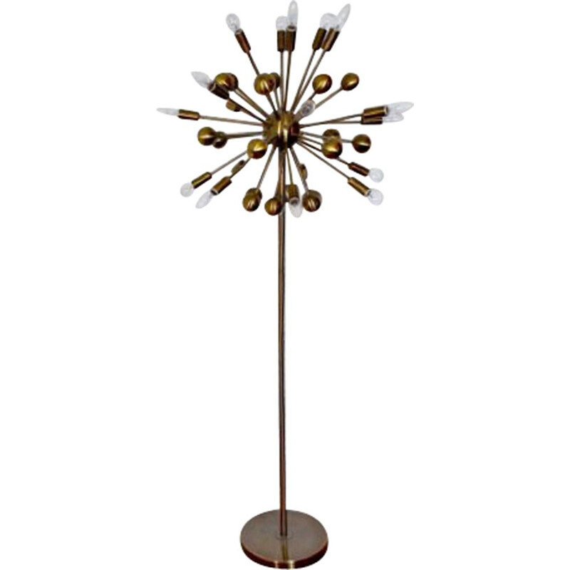 Vintage floor lamp Sputnik Space-Age 1980s