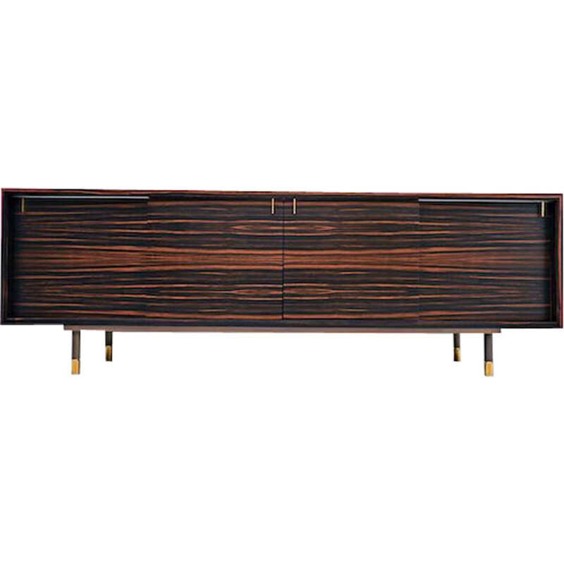 Vintage Macassar ebony sideboard by the Iceberg architecture studio