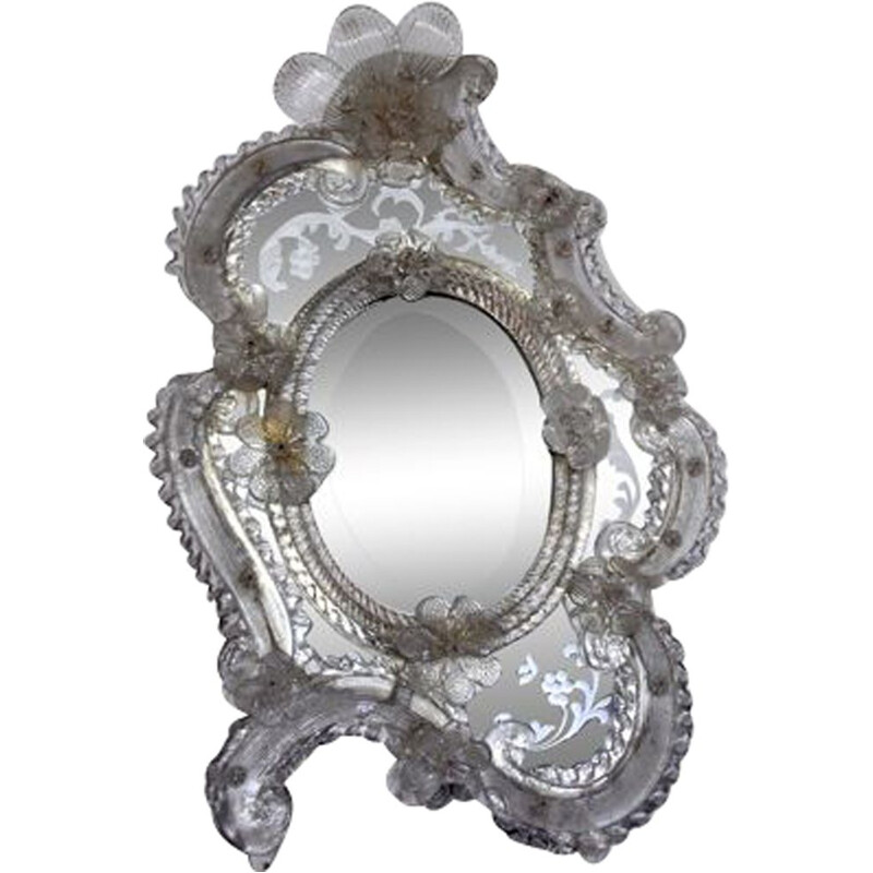Vintage Venetian mirror to be posed