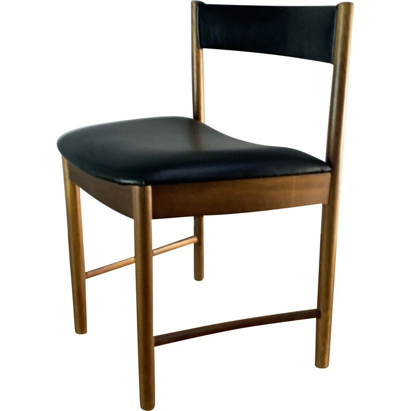 Set of 4 vintage dining chairs by A. H. Mcintosh 1970s