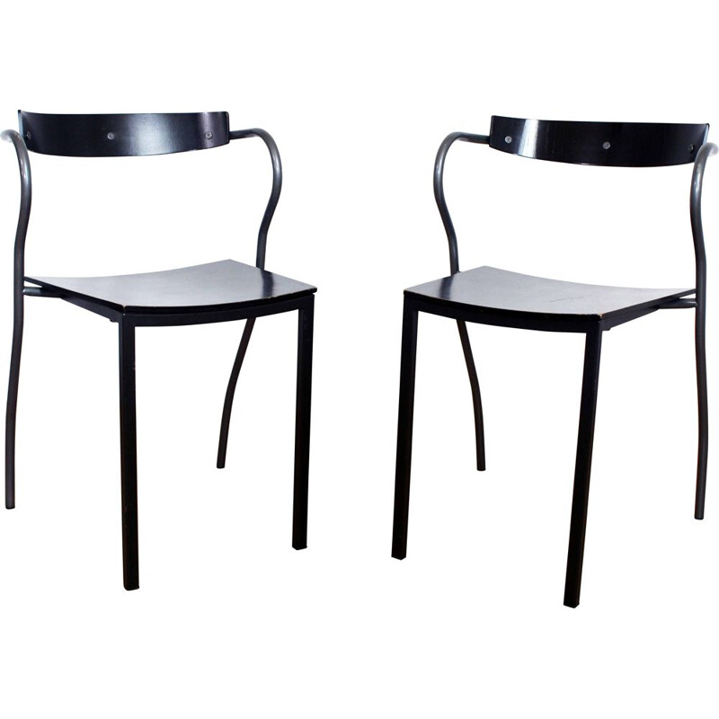 Pair of vintage RIO chairs by Pascal and Olivier Mourgue for Artelano 1980s