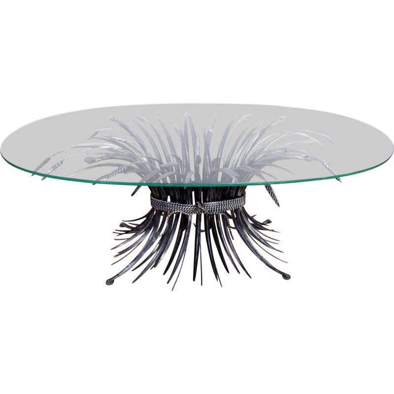 Vintage coffee table by Robert Goossens for Coco Chaneln, France 1970s