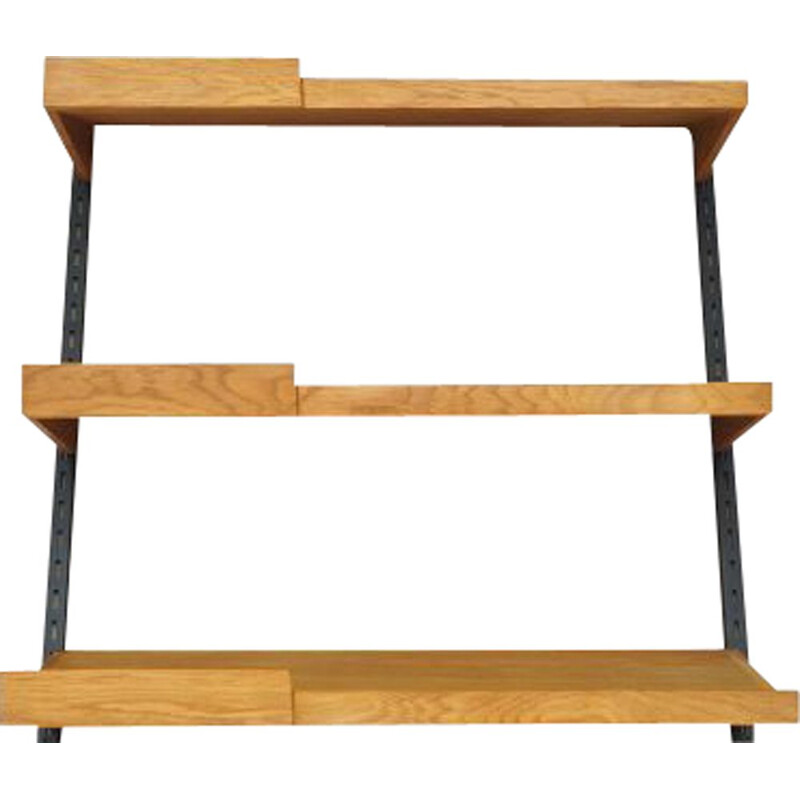 Vintage Wall shelf system by Kai Kristiansen, Danish 1970s
