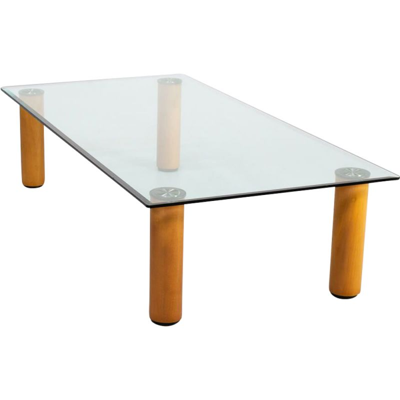 "Vintage ""marcuso"" coffee table by Marco Zanuso for Zanotta 1970s"