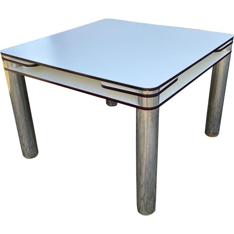 Vintage Poker Table by Joe Colombo for Zanotta