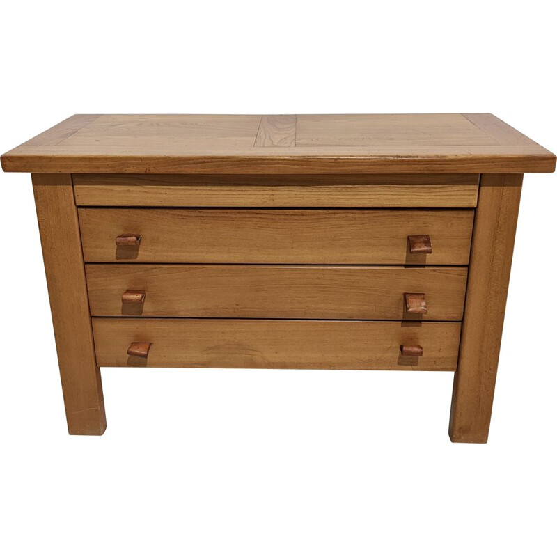 Vintage Maison Regain solid elm chest of drawers
