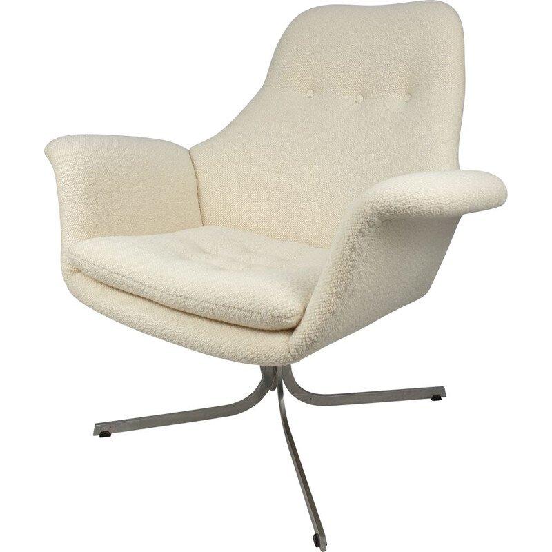 Vintage Big Tulip Armchair by Pierre Paulin for Artifort 1960s