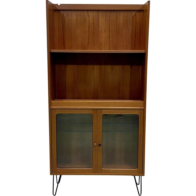 Vintage display case on hairpin legs by G-Plan 1970s