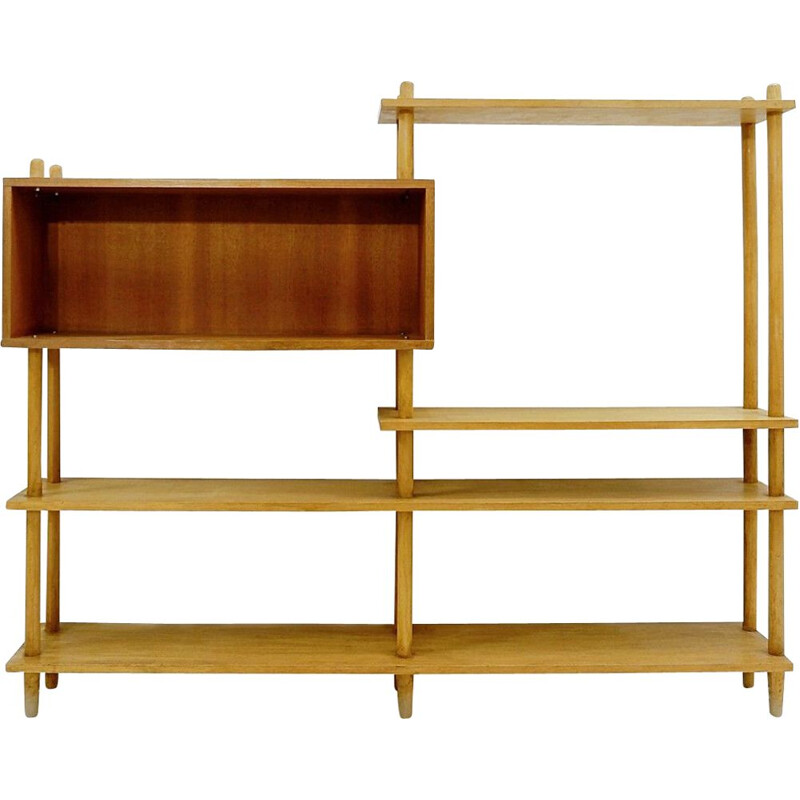 Vintage shelf Willem Lutjens for Gouda Den Boer, Holland 1960s