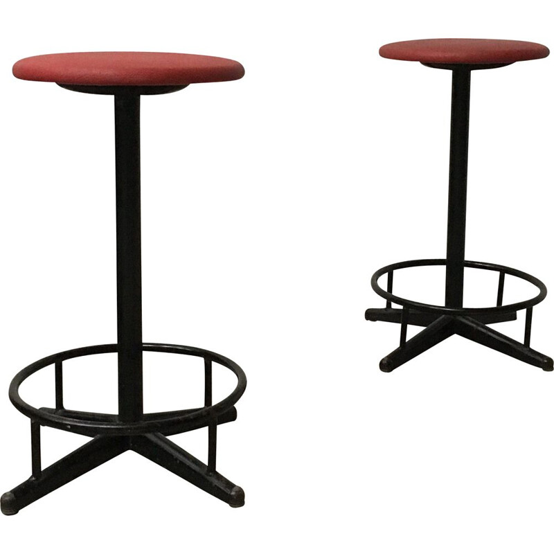 Pair of vintage Stool by Marko