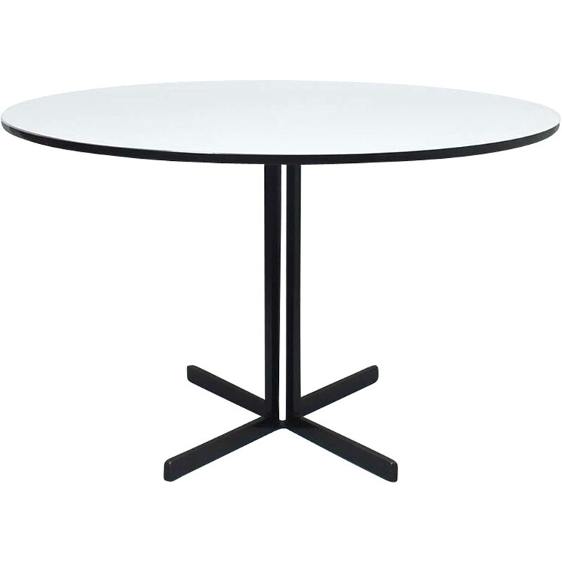 Vintage AP 104 oval table by Hein Salomonson for AP Originals, Netherlands 1950