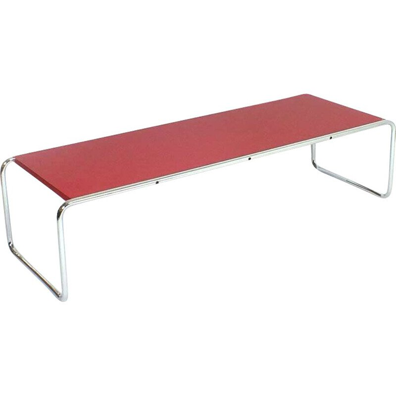 Vintage Laccio coffee table by Marcel Breuer for Knoll 1925