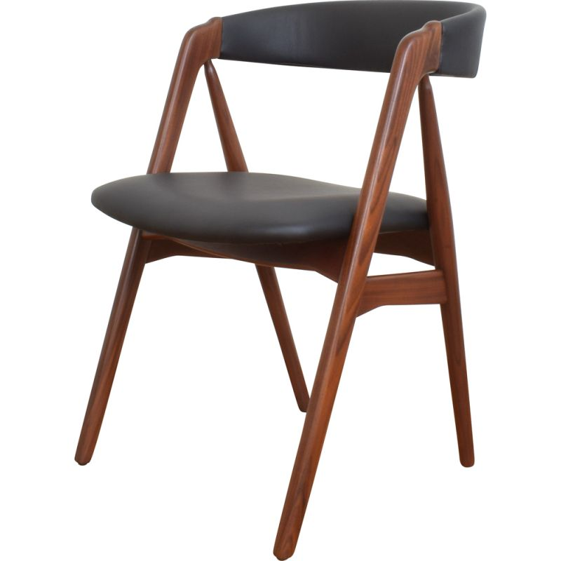 Vintage teak chair by Thomas Harlev for Farstrup Møbler, Denmark 1960